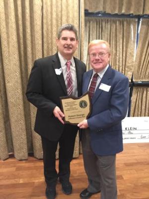 George Gains Regional OSBA Award
