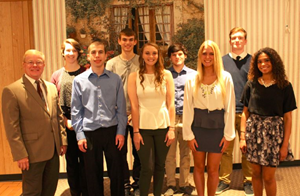 Students Honored at ACT Recognition Breakfast