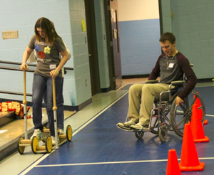 Area Students Learn about Living with Disabilities