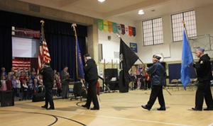 West Veterans Day