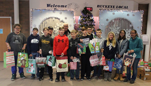 Church Donates Gifts to BLJHS