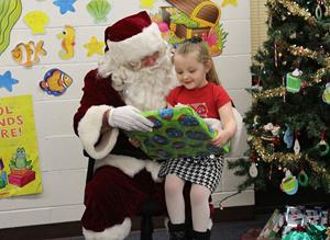 JVS Santa Visits Preschoolers