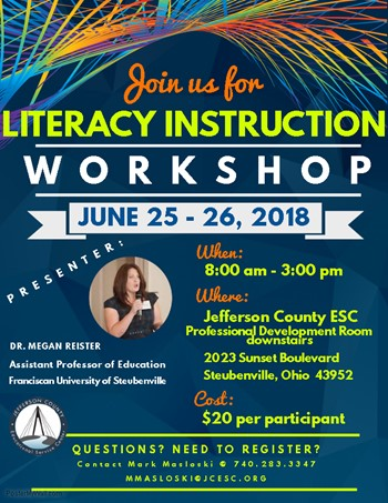 Literacy Instruction Seminar Event