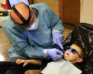 Mobile Dentist at North
