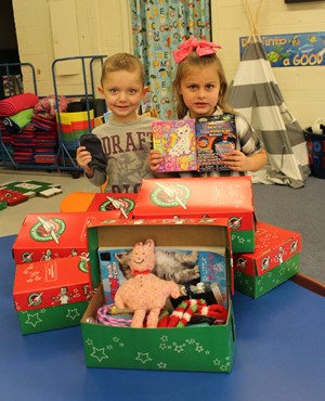 BL North Operation Christmas Child