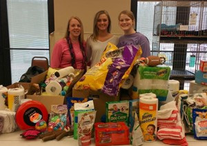 EHS Beta Club Helps Animals