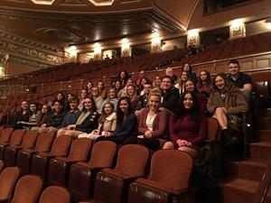 BLHS Students View Hamilton