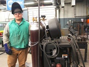 JVS Waggoner Places Third in Weld-Off