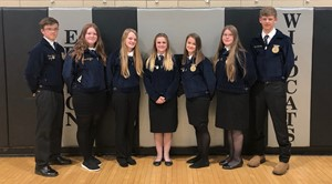 Edison FFA Banquet New Officers