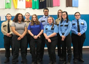 JVS CJ Students Gain Private Security Certification