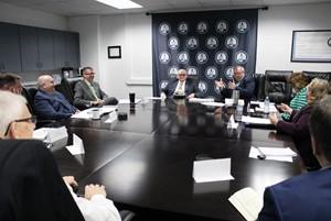 ESC Superintendent Meet with Legislators