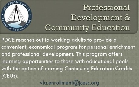 Information about Professional Development and Community Education