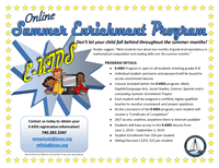 Summer Enrichment Program Flyer